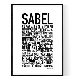 Sabel Poster