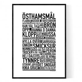 Östhamsmål Poster