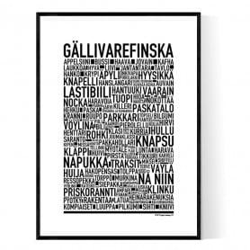 Gällivarefinska Poster