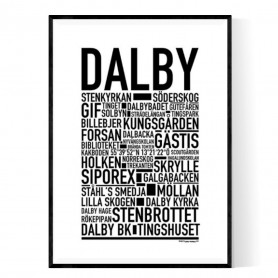 Dalby Poster