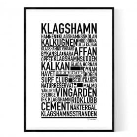 Klagshamn Poster
