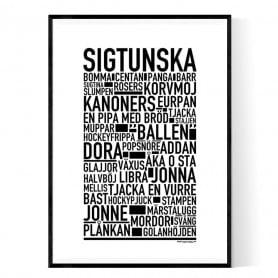 Sigtunska Poster
