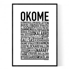 Okome Poster