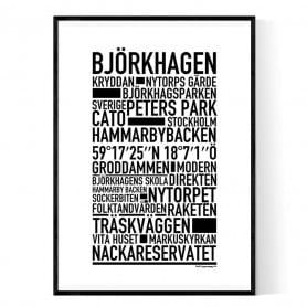 Björkhagen Poster