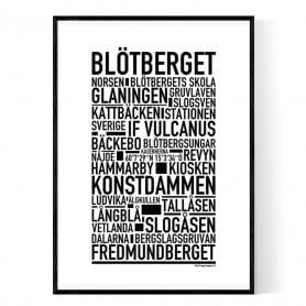 Blötberget Poster