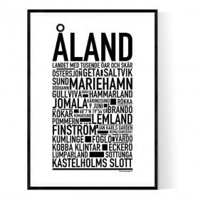 Åland Poster