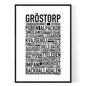 Gröstorp Poster