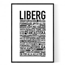 Liberg Poster