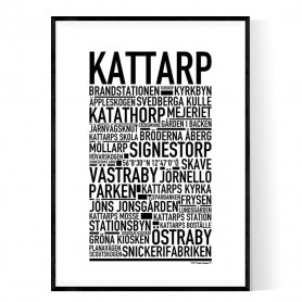 Kattarp Poster