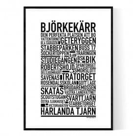 Björkekärr Poster
