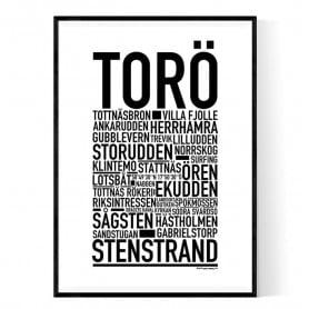 Torö Poster