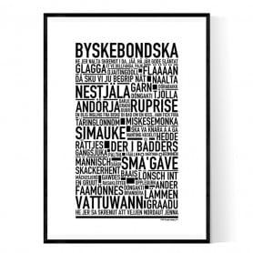 Byskebondska Poster