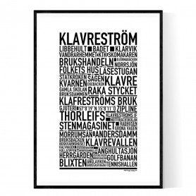 Klavreström Poster
