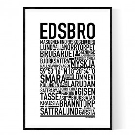 Edsbro Poster