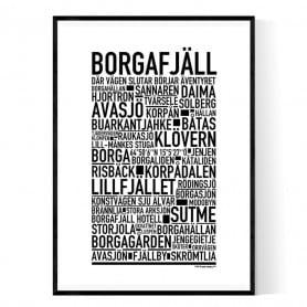 Borgafjäll Poster