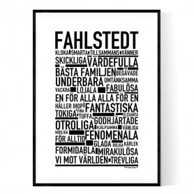 Fahlstedt Poster