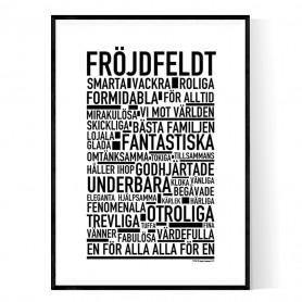 Fröjdfeldt Poster