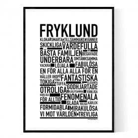 Fryklund Poster