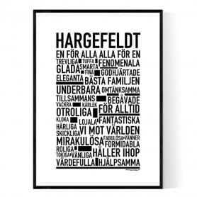 Hargefeldt Poster
