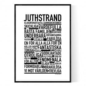 Juthstrand Poster