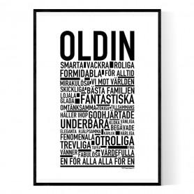 Oldin Poster