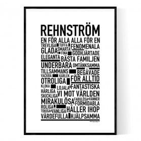 Rehnström Poster