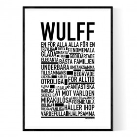 Wulff Poster