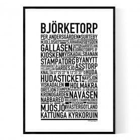 Björketorp Poster