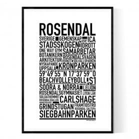 Rosendal Poster