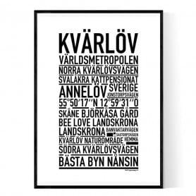 Kvärlöv Poster