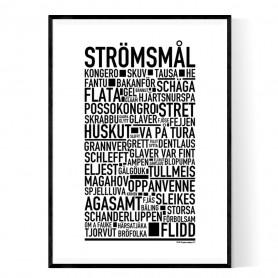 Strömsmål Poster