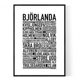 Björlanda Poster