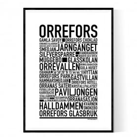 Orrefors Poster