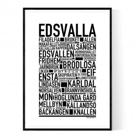 Edsvalla Poster