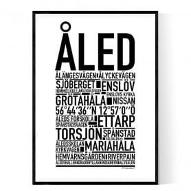 Åled Poster