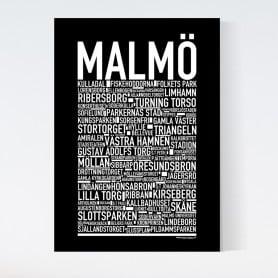 Malmö Canvastavla