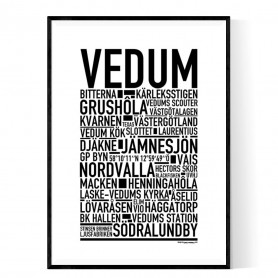 Vedum Poster