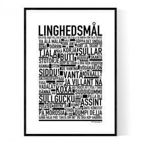 Linghedsmål Poster