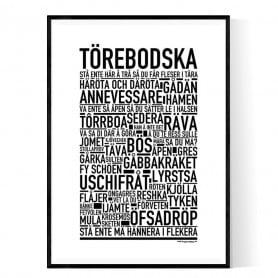 Törebodska Poster