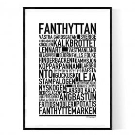 Fanthyttan Poster