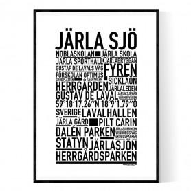 Järla Sjö Poster