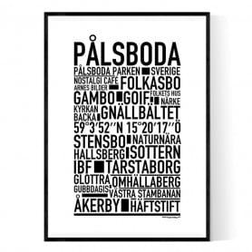 Pålsboda Poster