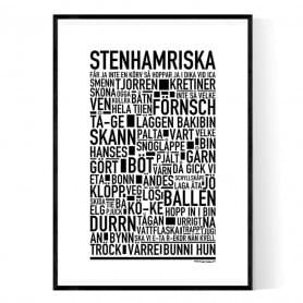 Stenhamriska Poster