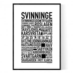 Svinninge Poster