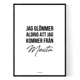 Från Mesta Poster