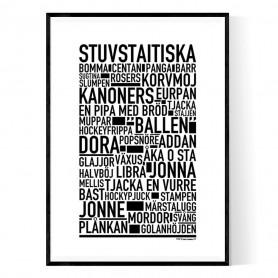 Stuvstaitiska Poster