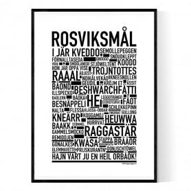 Rosviksmål Poster