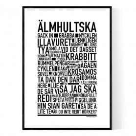 Älmhultska Poster