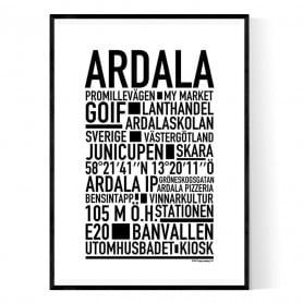 Ardala Poster