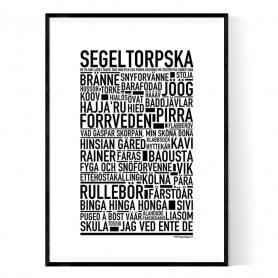 Segeltorpska Poster